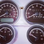 Custom Harley Gauge   Queen