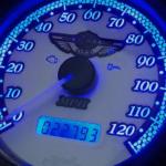 Custom Harley Gauge LED